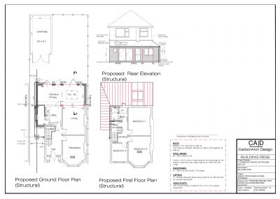 Structural Drawings - Nottingham
