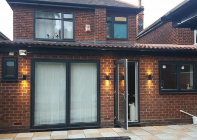 Nottigham wrap round extension
