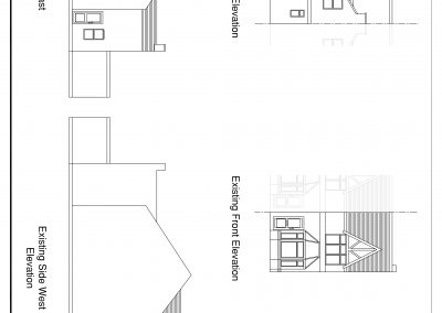 CAD1602 Existing Elevations