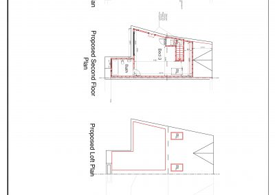 CAD1603 Proposed floor plan