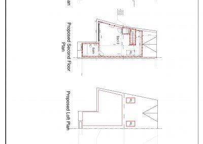 CAD1603 Proposed floor plan